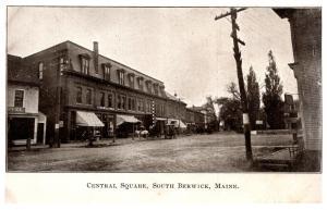 Maine South Berwick , Central Square , M.C.Willard Co.