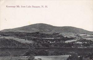 New Hampshire Lake Sunapee Kearsarge Mountain From Lake Sunapee 1919