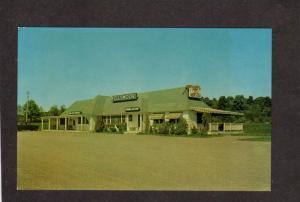 ME Fellsmoor Restaurant Dining Yarmouth Maine nr Portland Postcard