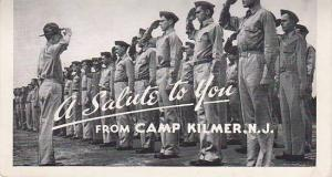 New Jersey Camp Kilmer A Salute To You 1947
