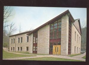 WEBSTER SPRINGS WEST VIRGINIA BURTON HALL CAMP CAESER VINTAGE POSTCARD