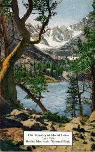 Colorado Rocky Mountains Loch Vale