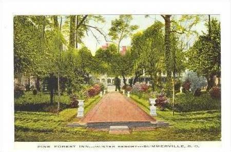 Walkway Pine Forest Inn,Summerville,SC PU 1912