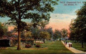 Iowa Des Moines Greenwood Park 1914