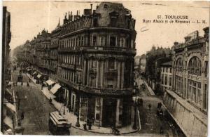 CPA TOULOUSE - Rue Alsace et de Rémusat (582576)