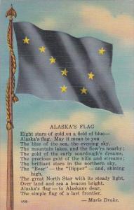 Alaska Alaska's Flag and Poem By Marie Drake