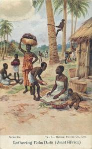 Lot 5 postcards GHANA Gold Coast native village ethnic life