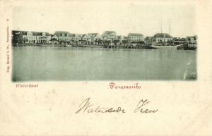 suriname, PARAMARIBO, Waterkant (1899) II