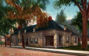 New York Kingston Old Senate House Erected 1676