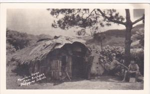 Philippine Islands Mountain Home Near Kiangar Real Photo