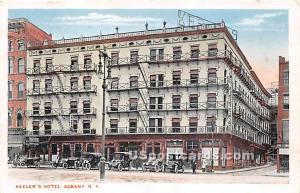 Keeler's Hotel Albany NY Unused