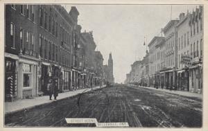 BELLEVILLE , Ontario, Canada, 1907 ; Street Scene