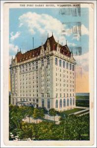 Canada - Manitoba, Winnipeg. Fort Garry Hotel    (crease)