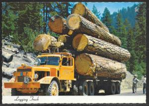 Oregon, Logging Truck, unused
