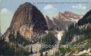 Lake Louise Canada, du Canada The Beehive & Bridal Falls  The Beehive & Brida...