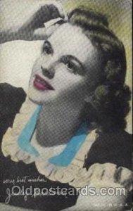 Judy Garland Postcard, Post Card Unused