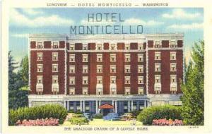 Hotel Monticello, Longview, Washington, WA, Linen