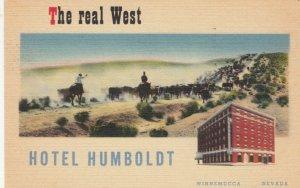 WINNEMUCCA, Nevada, 30-40s , Hotel Humboldt