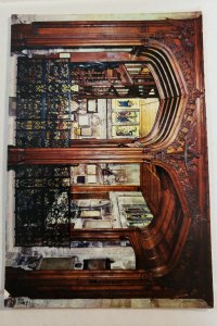 J. Arthur Dixon.  Bath, Abbey- The North Transept