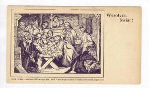 Manger scene, Wesolych Swiat!, Christmas, 00-10s