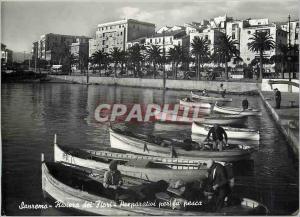 Modern Postcard Sanremo Riviera Preparativi per la Pesca
