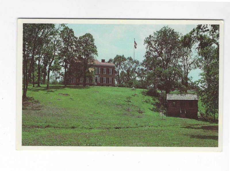 Vtg 1982 My Old Kentucky Home State Park Postcard
