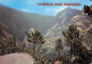 Portugal Madeira View of Curral das Freiras