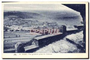 Old Postcard Dabo Vue Generale du Chateau Jack