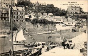 CPA DINARD - La Cale a marée haute (298133)