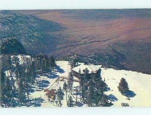 Chrome SKIING SCENE Sandia Peak - Albuquerque New Mexico NM AG5086