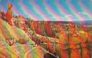 Utah Bryce Canyon National Park Switchbacks On Navajo Trail
