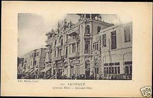 greece, SALONICA SALONIQUE, Splendid Hotel (1918)