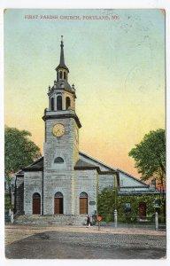 Portland, Me, First Parish Church