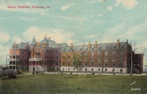 DUBUQUE, Iowa, 1900-1910's; Mercy Hospital