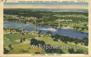Thousand Islands Canada, du Canada Thousand Islands International Bridge, St ...