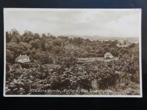 Somerset: HOLFORD Hodders Combe, The Quantocks c1936 - Old Postcard