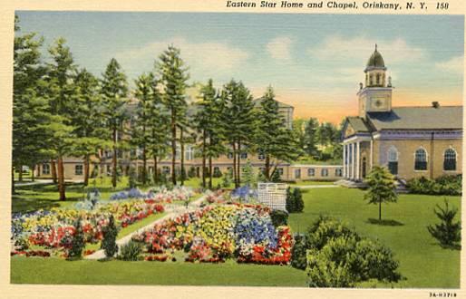 NY - Oriskany. Eastern Star Home and Chapel