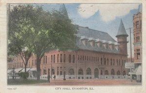 EVANSTON, Illinois, 1908 ; City Hall