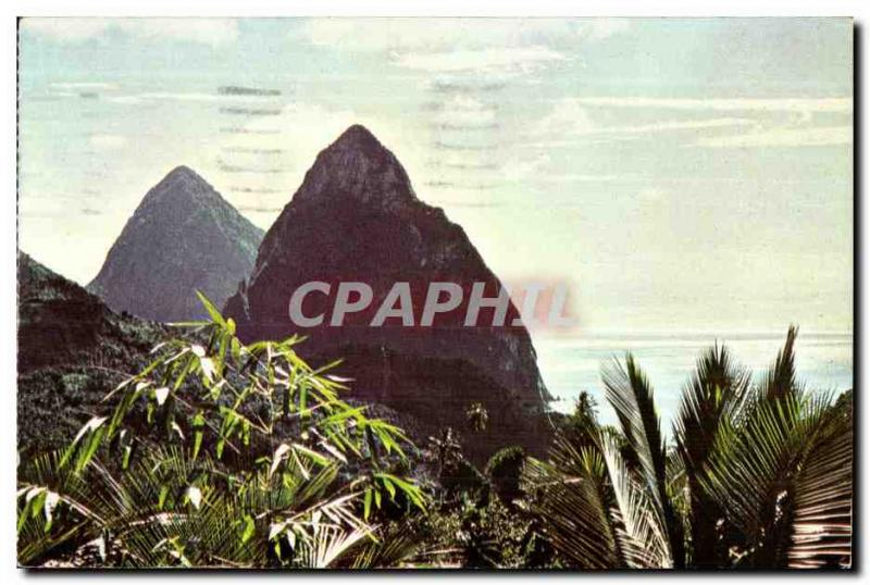 CPA Lucia West Indies The Small Cross-country race and Piton