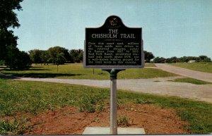 Oklahoma Chisholm Trail Marker