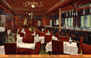 Massachusetts Boston Locke-Ober Cafe Curteich
