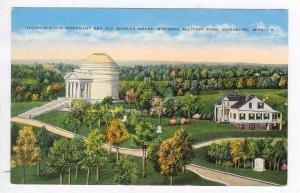 State Monument,Shirley House,Military Park,Vicksburg,MS 30-40s