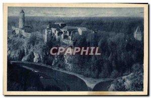 Old Postcard Hrad Zvfkov Stok Vitavy S Otavou