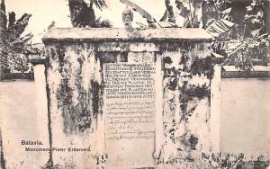Batavia Indonesia, Republik Indonesia Monument Pieter Erberveld Batavia Monum...