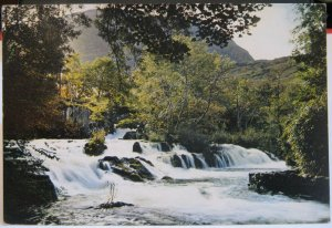 Wales The Nant Mill Falls - posted 1962