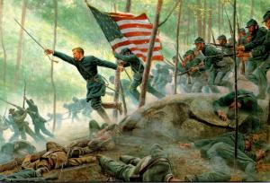 Civil War Chamberlain's Charge Little Round Top 2 July 1863