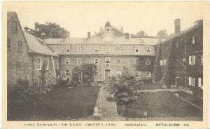 First Seminary for Girls,Bethlehem,Pennsylva nia,10-20s