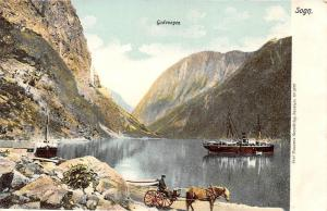 Norway Sogn Gudvangen, Ships, Carriage