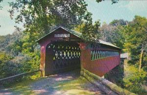 Covered Bridge Old Covered Chiselville Bridge East Arlington Vermont