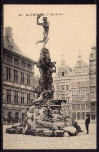 La Statue Brabo,Antwerp,Belgium BIN